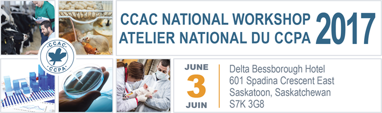 Banner of the CCAC National Workshop 2017